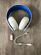 ORIGINAL SONY PLAYSTATION 4 PS4 WIRELESS STEREO HEADSET + USB RECEIVER + KABEL!!
