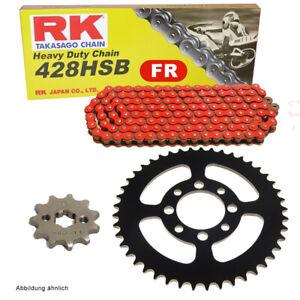 Chain Set Suitable For Kreidler Enduro 125 DD 08-14 Chain RK Fr 428 Hsb 136 Off
