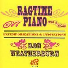 Ron Weatherburn : Ragtime Piano And Beyond CD (1999) ***NEW***