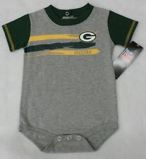 NFL Green Bay Packers Baby Boy Gray Creeper Size 3-6 Months