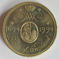 1994 Royal Mint BANK OF ENGLAND Two Pounds Piece £2 - RARE!