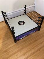 WWE BASIC SMACKDOWN SPRING WRESTLING RING FOR FIGURE TOY MATTEL KID Play