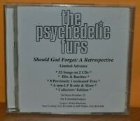 The Psychedelic Furs ‎– Should God Forget: A Retrospective (CD - 1997) Promo