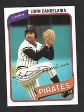1980 Topps #635 John Candelaria Pittsburg Pirates EX-NM