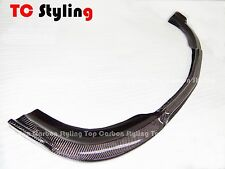 Carbon Fiber B Style Front  Lip For Mercedes Benz W212 AMG Sport