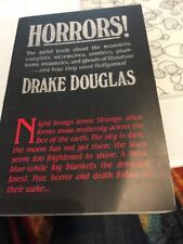 Horrors! by Drake Douglas (1989; Hardcover)