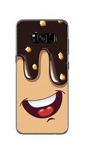 FUNDA de GEL TPU para SAMSUNG GALAXY S8 diseño HELADO CHOCOLATE Dibujos
