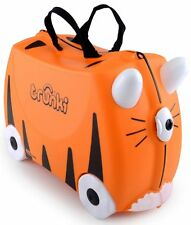 Trunki Tipu Tiger Ride On Hand Luggage Pull Along Suitcase For Children / Kids