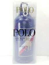 New Sealed Polo RALPH LAUREN Fragrances Blue Logo Pony Water Bottle w/ Lid