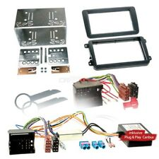 VW POLO 6R 09-14 2-Din Car Radio Installation Set Canbus Adapter RADIO FACEPLATE