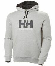 Helly Hansen Logo Mens Hoody - Grey All Sizes