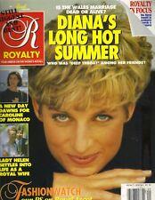 PRINCESS DIANA UK Royalty Magazine 1992 Vol 11 No 9 PRINCESS CAROLINE LADY HELEN