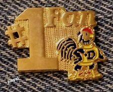 #1 Fan Lapel Pin~UD Delaware Blue Hens~NCAA~College~University~80's vintage