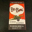 Big Bang Conestoga Cannon Bethlehem PA Manual Brochure Instructions Booklet