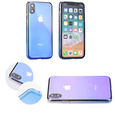 ^ Forcell Blueray Kunststoff PC Ombre Schutz Handy Etui Cover LG K10 2018