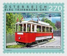 Tramway Train Gmunden Line 126 years mnh Stamp 2019 Austria Railway