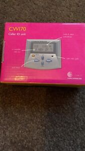 Cable & Wireless BT CW170 Telephone Phone Silver Caller ID Display Unit BNIB New