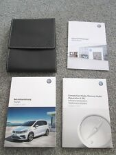 VW Touran II 5T - Betriebsanleitung Bedienungsanleitung Bordmappe Infotainment