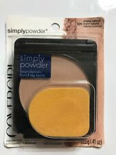 CoverGirl Simply Powder Foundation, Creamy Natural [520] 0.41 oz New
