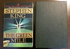 Stephen King The Green Mile - Paperback with Slipcase - Like New, Complete Novel