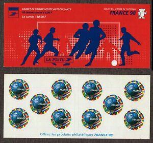 1998- France - FIFA Football World Cup France 1998- Soccer - Booklet self adesiv