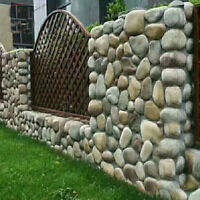 Step Stones Plaster Mold Cobblestone Pebbles Concrete Mould Decor DIY Toy