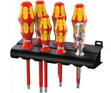 WERA Kraftform VDE Insulated Screwdriver Choose From Phillips, Pozi, Slot Or Set