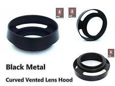 F122u Metal Tilted Vented Lens Hood for Voigtlander Nokton 35mm F1.4 Lens