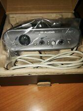 M-AUDIO FAST TRACK MKII SCHEDA AUDIO INTERFACCIA USB