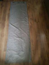 John Lewis Lined Eyelet Curtains, Grey W 134 x D 231cm
