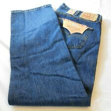 Levi's Strauss Jeans Hommes Original Fit 501 Droit Jambe Bouton Fly W42 L32