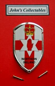 NORTHERN IRELAND WALKING / HIKING STICK BADGE  / MOUNT  LOTM NEW IN PACKETS