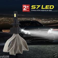 1 Set H7 Car LED Headlight Light Bulb Kit Set Conversion White 60W 6400LM 6000K