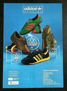 NEW - Rare Adidas Originals Spezial - Blackburn 2019 Exhibition Poster Embossed