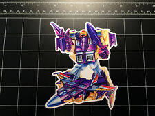Transformers G1 Blitzwing box art vinyl decal sticker Decepticon 80s 1980s