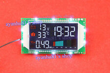 DC 12V-32V Digital Time + Voltage + Temperature + Pressure LED Display Module