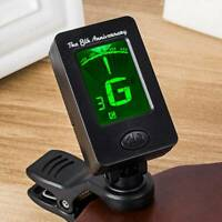 Electric Digital Guitar Tuner LCD Clip-on Chromatic Acoustic Bass Violin Tuner