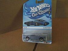 2013 Hot Wheels Cool Classics '65 FORD MUSTANG convertible specrafost 12/30