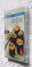HEALTHY FOOD FOR LIFE- DETOX (DVD) R-ALL, NEW AND SEALED, FREE POST IN AUSTRALIA