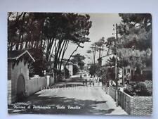 Marina di Pietrasanta Lucca viale Versilia vecchia cartolina
