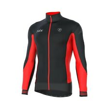 FDX Mens Thermodream Cycling Jersey Full Sleeve Thermal Roubaix Cycling Jacket
