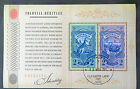 Australian Decimal Stamps: *SALE* Mini Sheet - Colonial Heritage - Identity-Used
