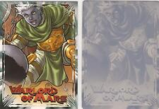 Warlord of Mars - Cyan Printing Plate for Chase Card WM-4