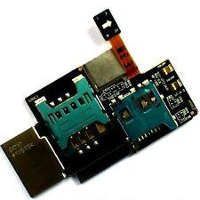 SIM slot per schede MicroSD lettore per Samsung Galaxy Note I717 SGH-i717 FLEX titolare
