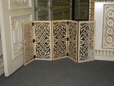 PET FENCE / ROOM DEVIDER / doggy door 55 inch wide gate patterncut.com