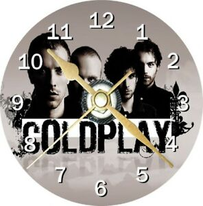 Coldplay Novelty Cd Clock Can be personalised