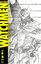 BEFORE WATCHMEN JIM LEE SKETCH COVER FRENCH VARIANT ONLY 2500 RARE