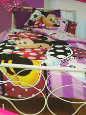 DISNEY MINNIE MOUSE Go Shopping DOUBLE QUILT/DOONA COVER SET BNIP