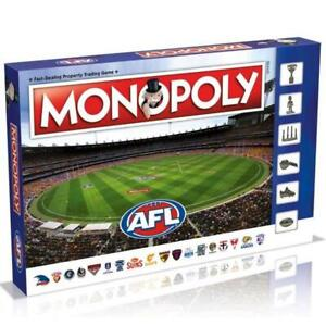 MONOPOLY AFL REVISED EDITION BOARD GAME