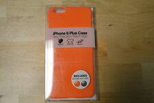 Gems iPhone 6 Plus Case Orange Includes Two Home Buttons Brand New 2E
